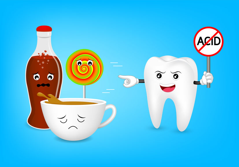 Dietary Impact On Teeth With Erosive Food and Beverages